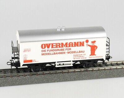 MÄRKLIN 4415 Kühlwagen Sondermodell OVERMANN, DB, rot bedruckt, OVP, top!