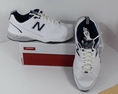 New Balance MX624wn4 Mens White/blue Running Shoes, Trainers, size 11.5