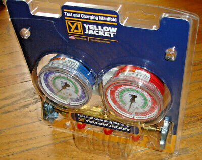 Yellow Jacket 41212 Refrigerant Manifold Gauges R1222502