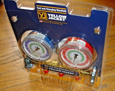 Yellow Jacket 41212 Refrigerant Manifold Gauges R1222502