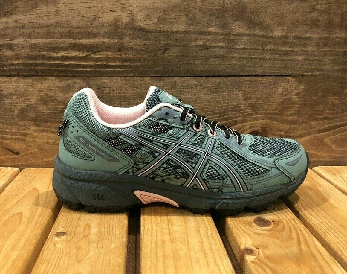 ASICS Gel-Venture 6 Slate Grey Frosted Rose - Women's Trail