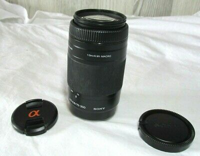 Sony 75-300mm f/4.5-5.6 Alpha A-Mount Telephoto Zoom Lens