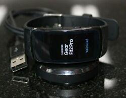 Samsung Gear Fit 2 Pro Smart Watch Black Band SM-R365 [100CHJ]