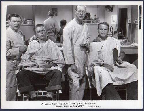 RICHARD JAEKEL & MURRAY ALPER barbershop WING & A PRAYER Vintage Orig Photo NAVY