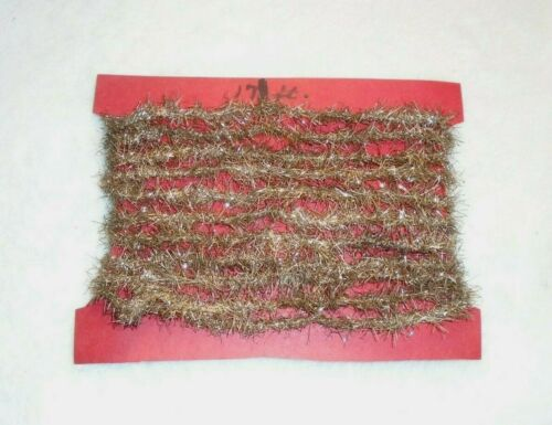 Antique Christmas Feather Tree Tinsel Garland, 17 Feet Long!
