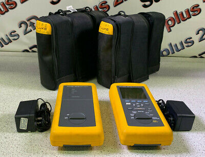 Fluke Dsp-100 Lan Cablemeter  Dsp-sr Smart Remote