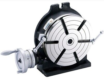Vertex Hv-10 10 Horizontal Vertical Rotary Table With Face Plate 6 Slots