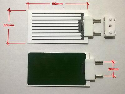 3.5g Ceramic Ozone Plate 3500mg/hr with Socket / Base Odor Remover Sanitizer