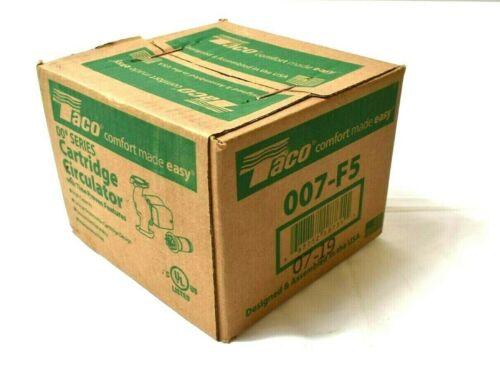 TACO 007-F5 High Capacity Hot Water Circulator Pump,1/25 HP NEW
