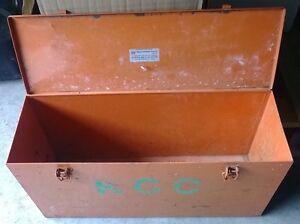 Orange Steel Toolbox Bedfordale Armadale Area Preview