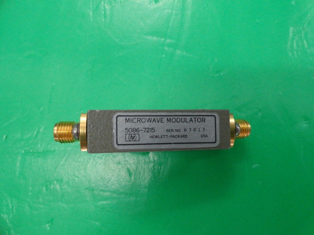 1pc Agilent 5086-7215 4-12GHz 40dB Modulator