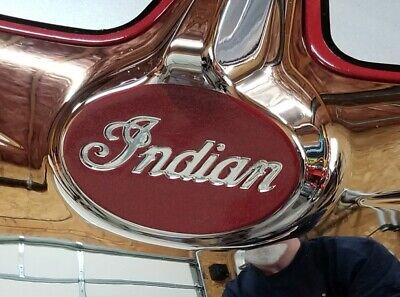 Indian Motorcycle Headlight Bezel Background Decal/Sticker/Emblem