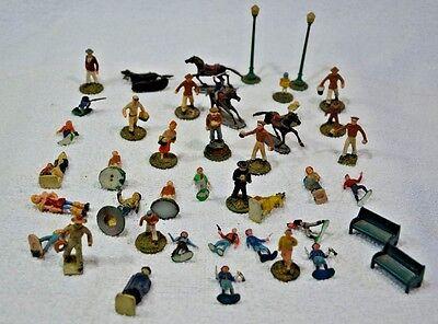 Lot of 43 Vintage MARX Figures assorted sizes