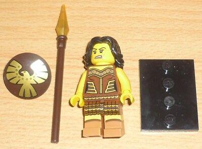 Lego Sammelfigur Serie 10 Krieger mit Waffe (Lego Krieger Waffen)