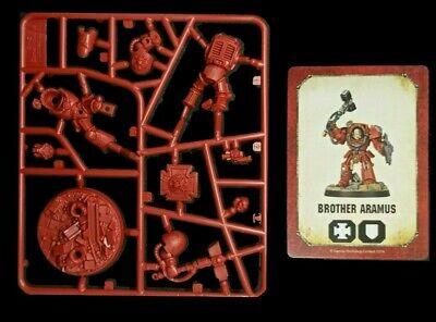 Space Marine Heroes Series 2 Brother Aramus 40K Blood Angel Terminator