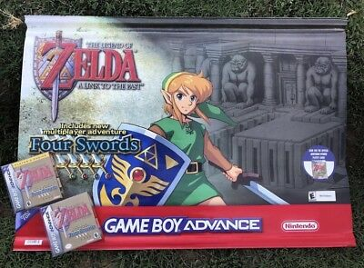 Rare Vintage Zelda Banner Display