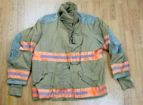 Globe Firefighter Bunker Turnout Jacket 46 Chest x 32 Length Halloween