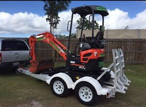 Mini Excavators for Hire Browns Plains Logan Area Preview