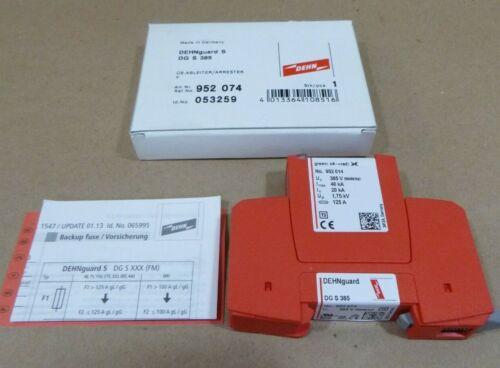 DEHN DEHNGUARD S DG S 385 POWER SUPPLY SURGE ARRESTER 385V 40/20KA 125A 50/60HZ