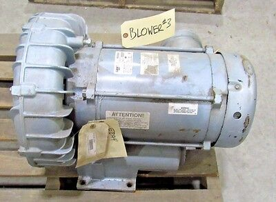 Gast Regenair R6p155q-50 Regenerative Blower Used Sold As Is