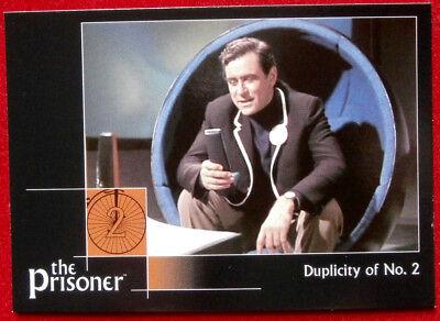 THE PRISONER Autograph Series - Vol 1 - GEORGE BAKER - Card #18 Cards Inc 2002