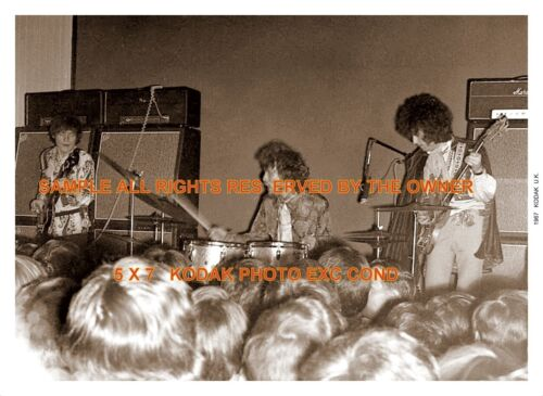 CREAM ERIC CLAPTON GINGER BAKER 1967 rare set of two 5x7 don`t miss out