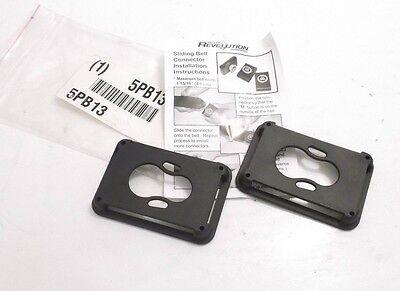 Honeywell Miller Ria-c21 Belt Attachment Clip - 6 - Black - Prepaid Shipping