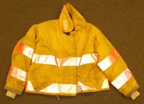 50x37 27Length Firefighter Jacket Coat BunkerTurnout Gear Quaker Fire Wear J569