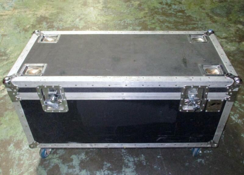 Heavy Duty Hinged Road Case With Wheels 41 x 18 x 14.5 in