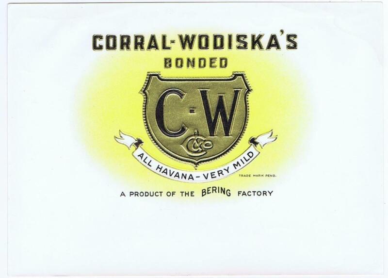 C-W Bering  Corral Wodiskay