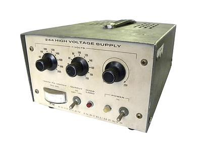 Keithley High Voltage Power Supply 200-2200 Vdc 10 Ma Model 244