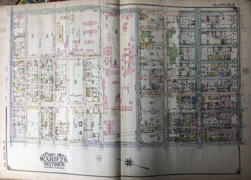 1924 E. Belcher Hyde East Flatbush Kings County Hospital Brooklyn NY Atlas Map