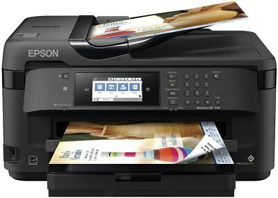 Epson WorkForce WF-7710 Wireless Wide-format Color Inkjet Printer with Copy