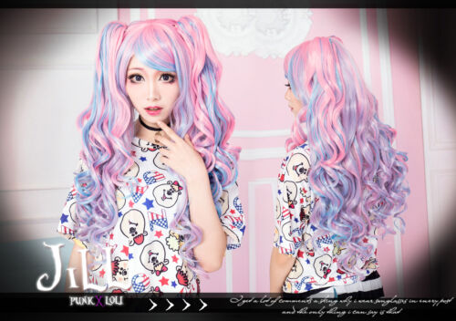 japan-manga-cosplay-LOLITA-Pop-rocks-rhapsody-curly-wig-w-side-ponytail-P-B