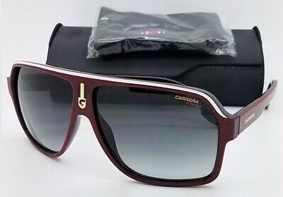 NEW Carrera sunglasses Mens 1001/S 0A4 62 Red Grey Gradient AUTHENTIC Flat-Top