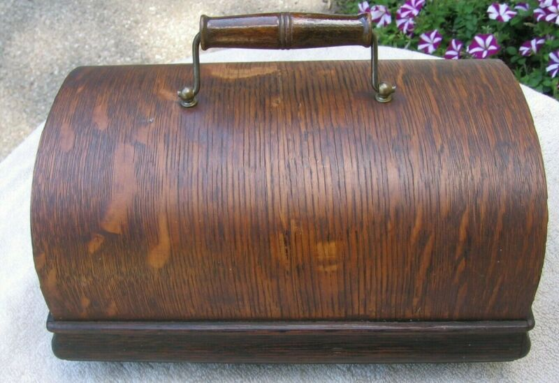 Antique Edison Standard Cylinder Phonograph Case Lid with Handle~Stock Part px