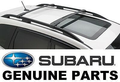 2014-2017 Subaru Forester OEM Aero Cross Bars Roof Rack - E361SSG000
