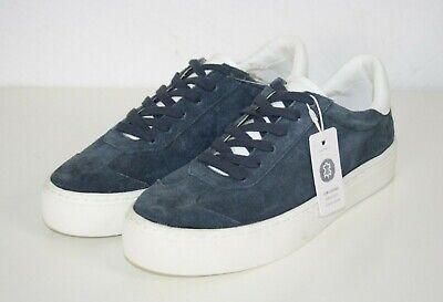 Damen-retro-sneaker (ESPRIT Damen Retro Sneaker Halbschuhe Wildleder blau NEU)