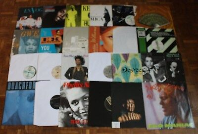 "Collection of 24 x Soul Funk Boogie Disco Classic 12"" Vinyl Records - New Set 2"