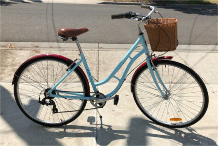 Apollo Classic Vintage Style Ladies Step Through Bike Bicycle