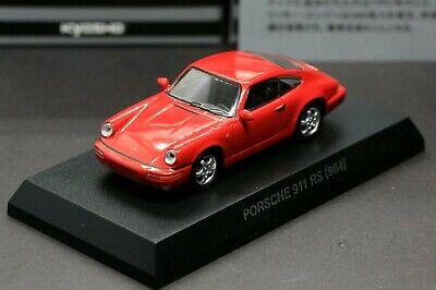 Kyosho 1/64 Porsche Collection 6 Porsche 911 Carrera RS 964 Red