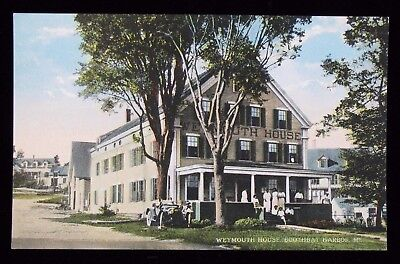 Vintage Postcard Weymouth House Boothbay Harbor MAINE  PC#126