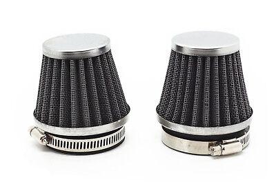 2x 50mm Air Filter for Yamaha SR500 XT500 XJ650 XS750 XS850 XJ900 XS1100