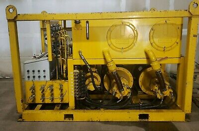 Strand Jack System Hydraulic Pump 8 Jack Unified Lift Poclain 4h14for175
