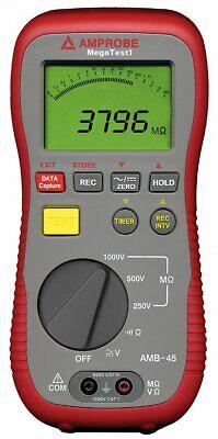 Amprobe Amb-45 Digital Megohmmeter Insulation Resistance Tester