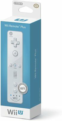 Official Nintendo Wii/Wii U Remote Plus Controller (White) Brand New
