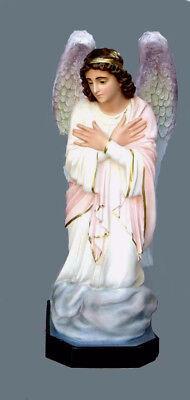 Angelo In Adorazione Sx Fiberglass Statues Cm 110 44