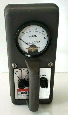 Vintage Victoreen 592b Radiation Detection Survey Meter Parts Repair