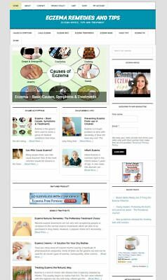 Eczema Remedy Resource Turnkey Website Business Complete W Digital Product