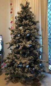 Free Snowy Christmas tree